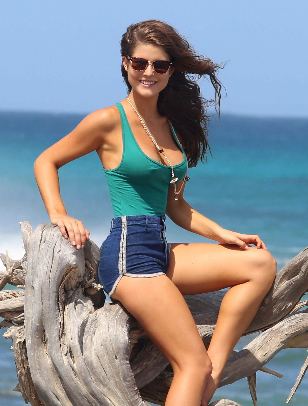 Amanda Cerny Shooting A Music Video In Aruba September