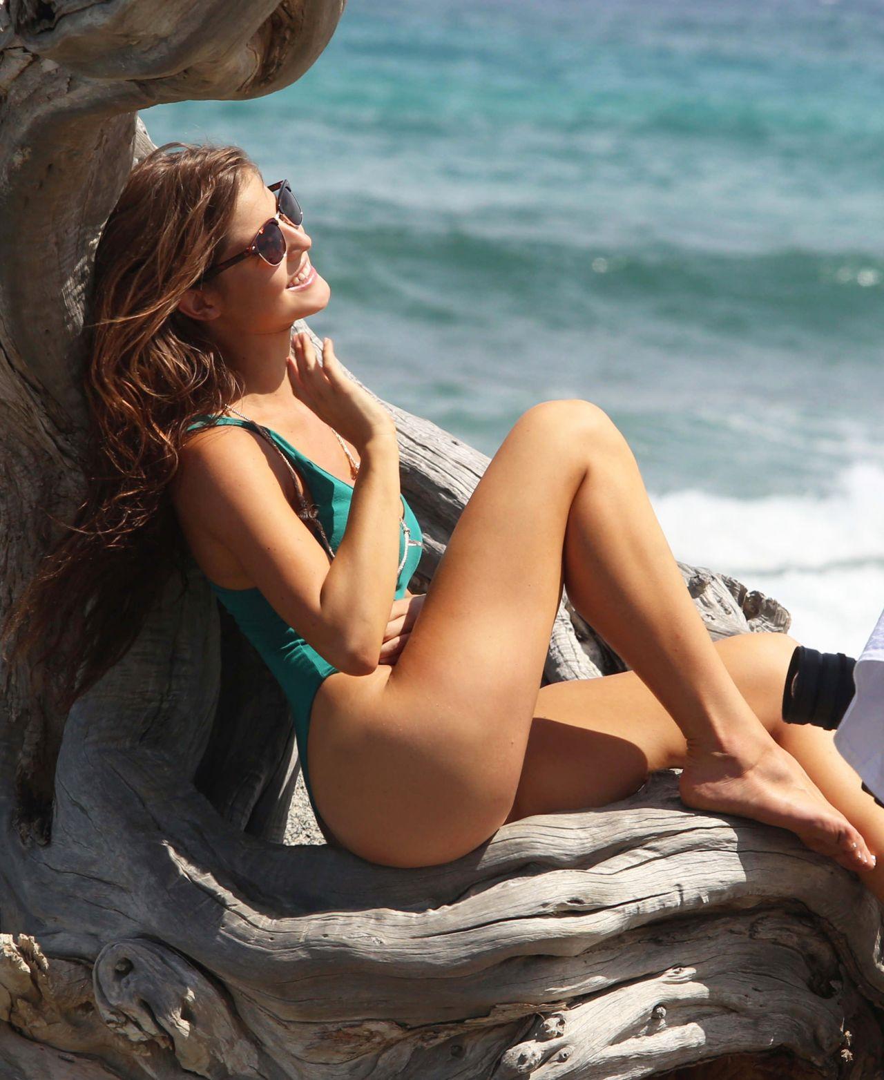Amanda Cerny Shooting A Music Video In Aruba September