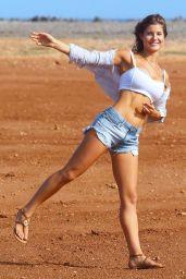 Amanda Cerny Shooting a Video in Aruba - September 2014