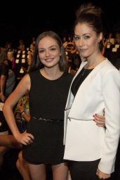 Amanda Crew – BCBG Max Azria Fashion Show in New York City – September 2014