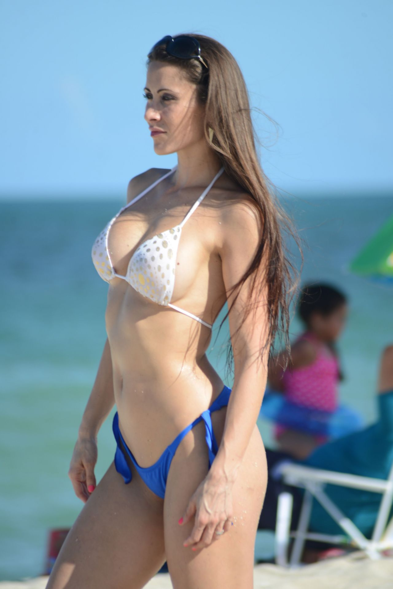 Anais Zanotti anais zanotti bikini photoshoot - beach in miami - september