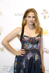Anna Chlumsky - CYNTHIA ROWLEY Spring 2015 Presentation in New York City