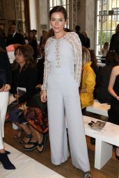 Anna Friel - Temperley London Fashion Show in London - September 2014