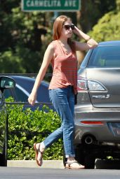 Anna Kendrick in Jeans - Out in Los Angeles - September 2014