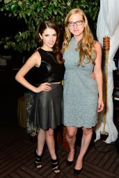 Anna Kendrick - Nikki Beach Pop-up at 2014 TIFF