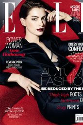 Anne Hathaway - Elle Magazine (UK) - November 2014 Issue