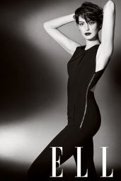 Anne Hathaway - Elle Magazine (UK) - November 2014 Issue