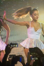 Ariana Grande Performs at BPM Nightclub in New York City