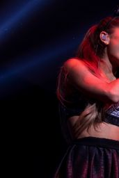 Ariana Grande Performs at the Power 106 All-Star Celebrity Basketball Game in Los Angeles