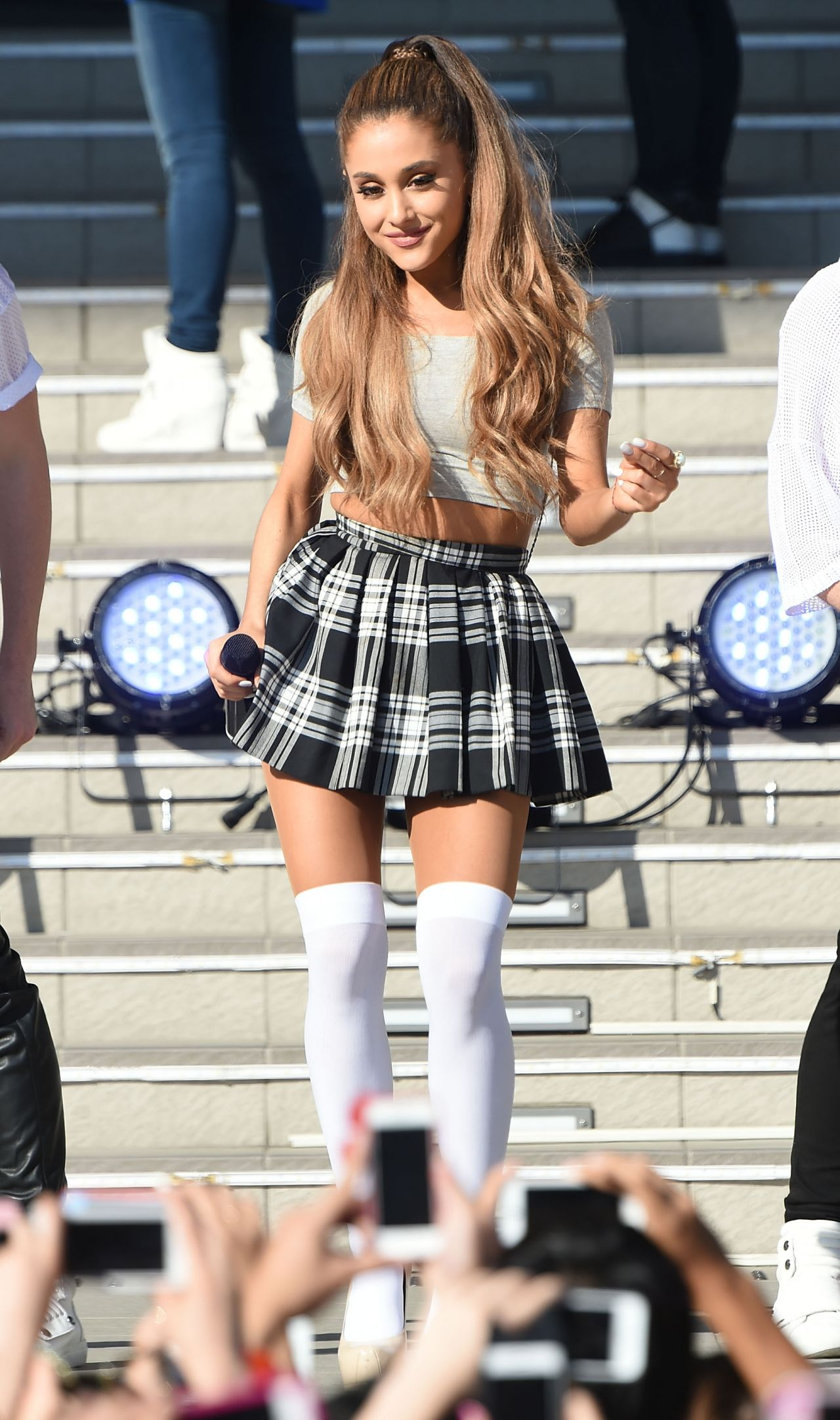 Ariana Grande – Promoting 'My Everything' at DiverCity Plaza in Tokyo