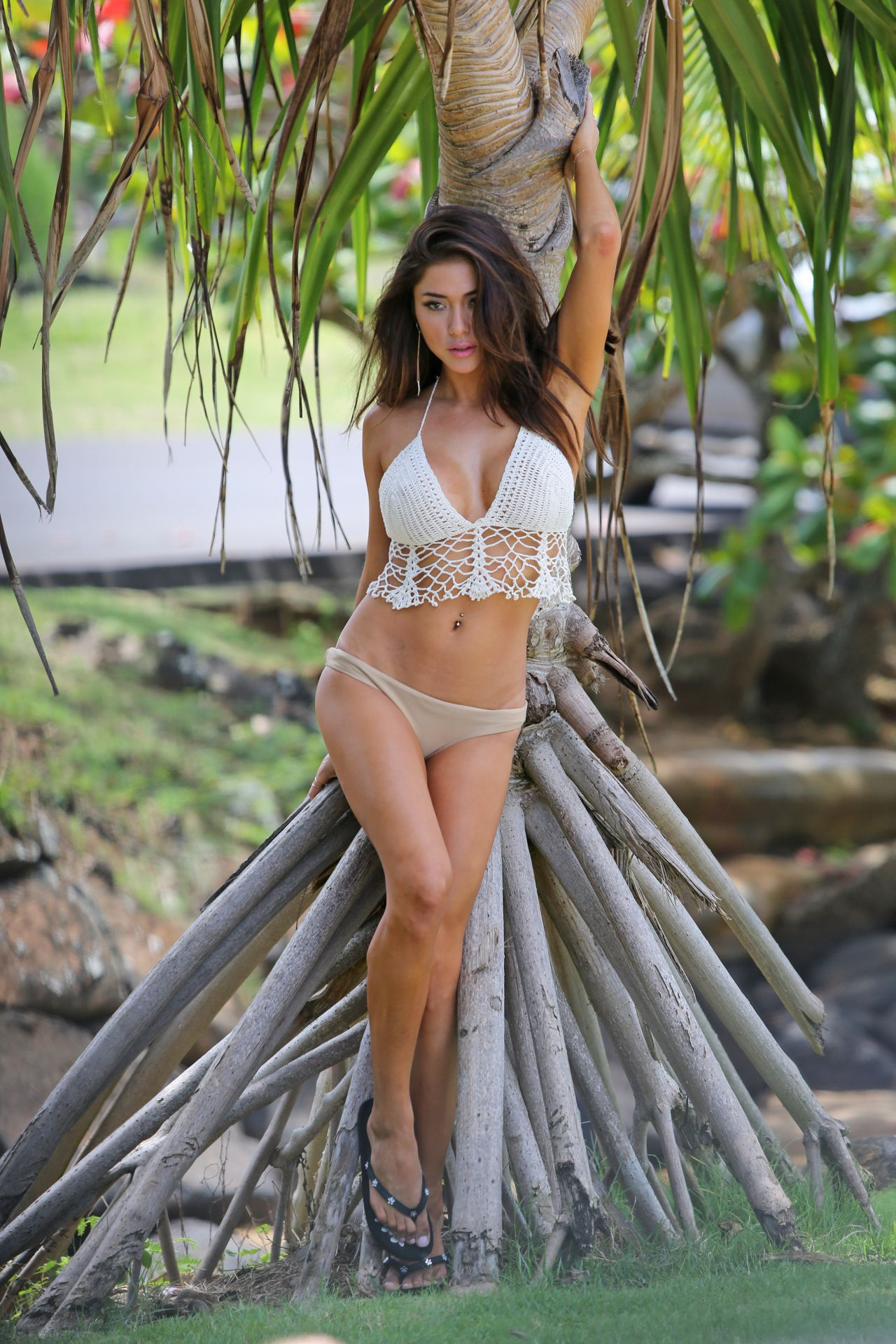 Arianny Celeste Bikini Photoshoot - Hawaii 2014