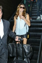 Ashley Greene at LAX Airport - September 2014