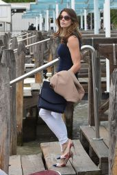 Ashley Greene Style - Out in Venice, Italy - September 2014