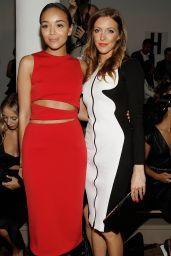 Ashley Madekwe & Katie Cassidy at Cushnie et Ochs Fashion Show in New York - September 2014