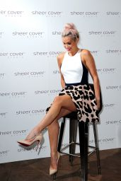Ashley Roberts - Sheer Cover Studio Event in London