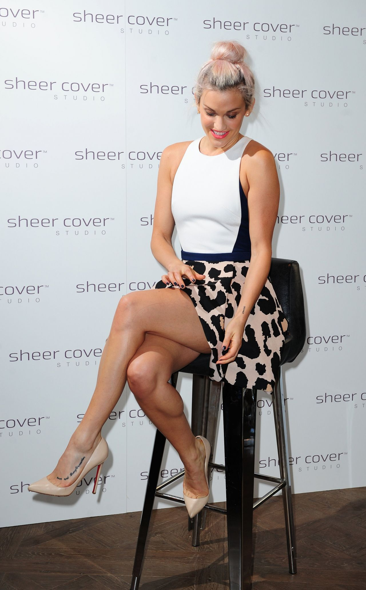 Ashley Roberts – Sheer Cover Studio Event in London