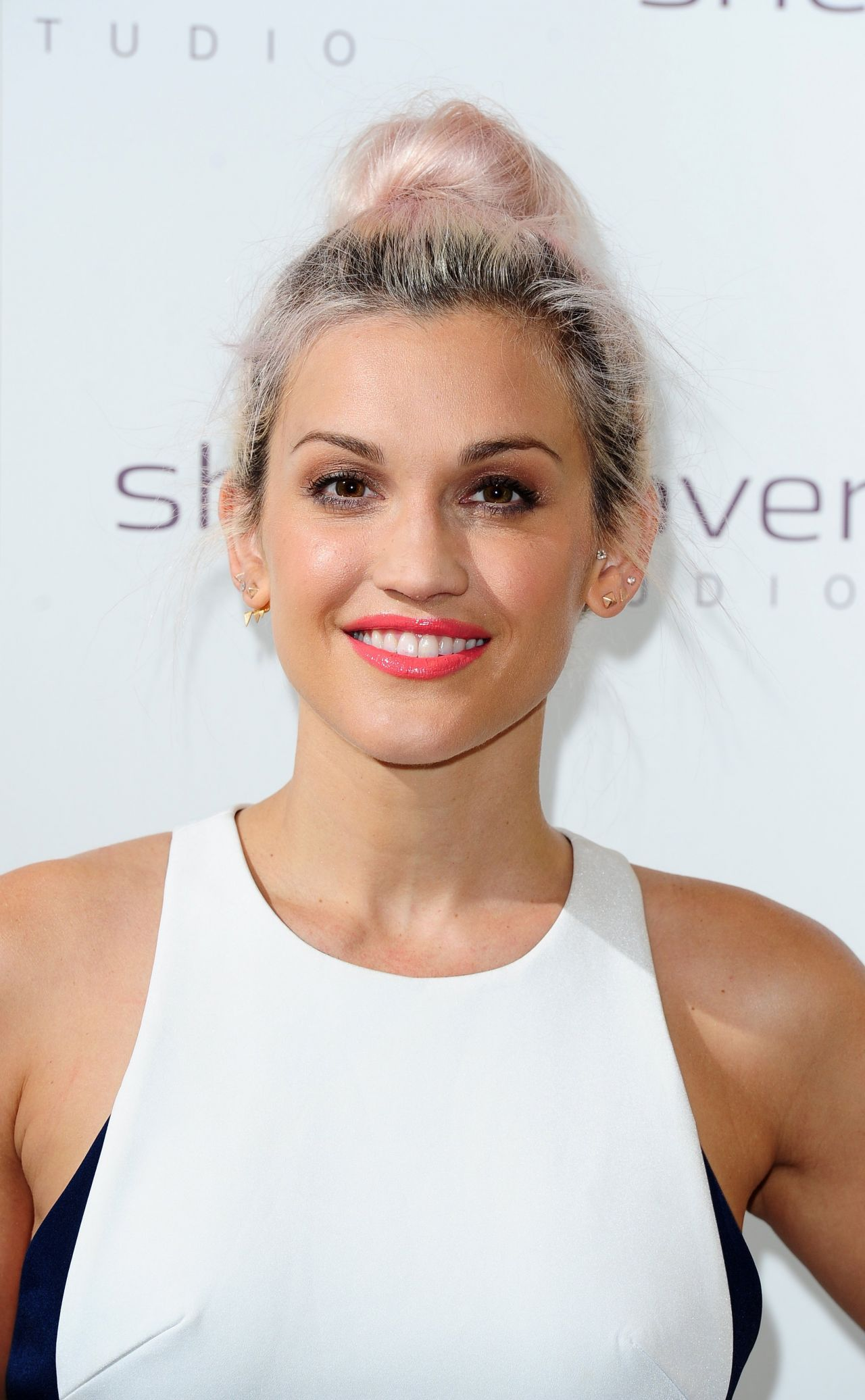 Ashley Roberts Sheer Cover Studio Event In London