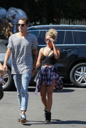 Ashley Tisdale Street Style - at Whole Foods in Studio City, September 2014