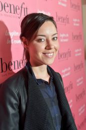 Aubrey Plaza – Benefit Cosmetics Kick-Off National Wing Women Weekend in Los Angeles – Sept. 2014