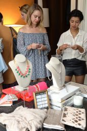 Becca Tobin - NYFW Fashion & Beauty Style Stop - September 2014
