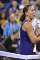 Belinda Bencic - 2014 U.S. Open Tennis Tournament in New York City – 4th Round