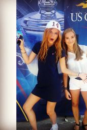 Bella Thorne at the U.S Open 2014 - September 2014