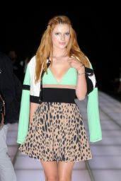 Bella Thorne in Italy - Fausto Puglisi Show in Milan - September 2014