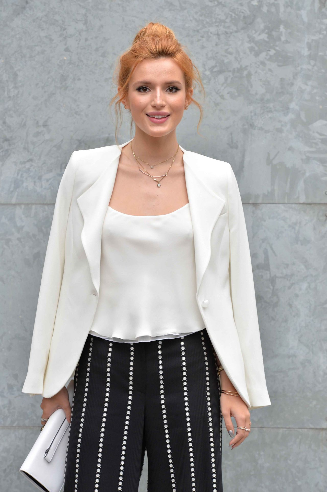 Bella Thorne - Milan Fashion Week - Emporio Armani Fashio Show in Milan, Italy - Sept. 2014