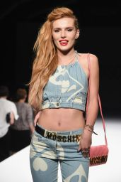 Bella Thorne - Milan Fashion Week - Moschino Show, September 2014