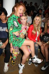 Bella Thorne & Miley Cyrus - Russell James' 'Angel' Book launch in New York City
