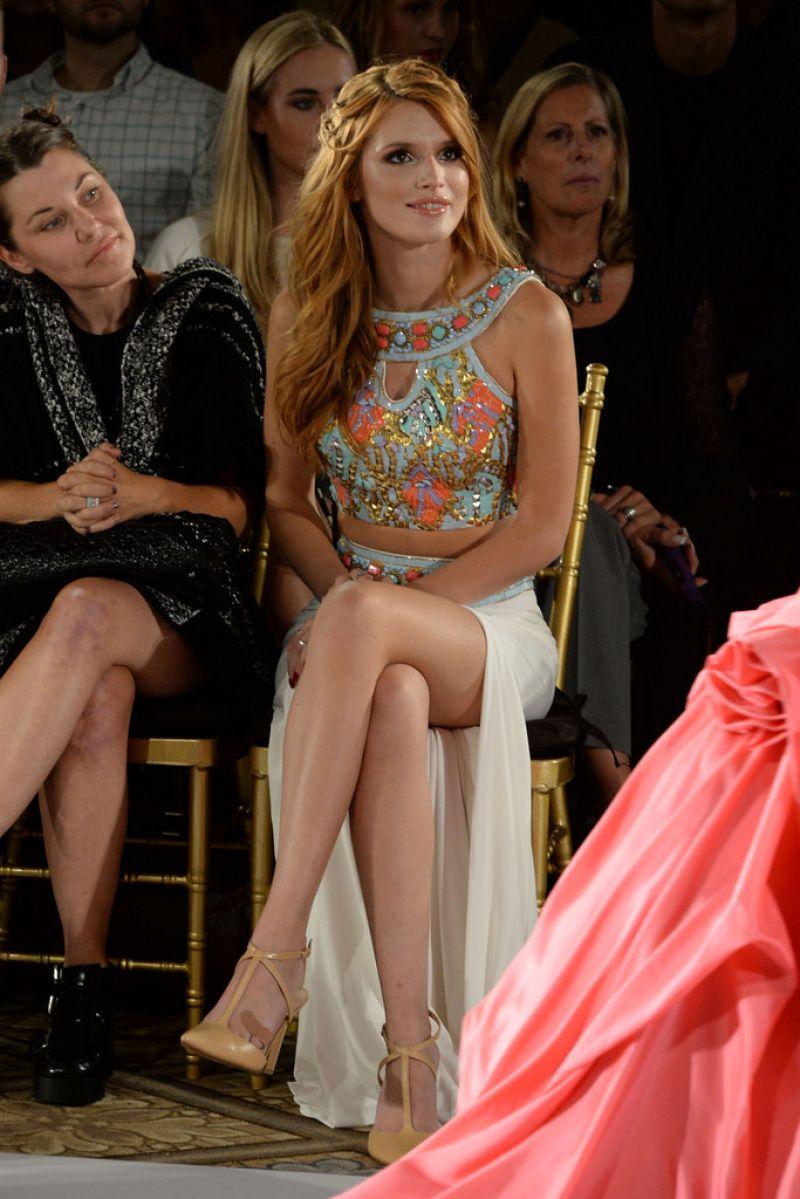 Bella Thorne - Sherri Hill Fashion Show during MBFW in New York City - September 2014