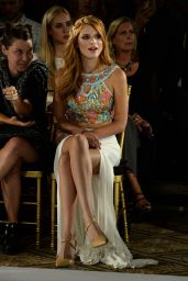 Bella Thorne - Sherri Hill Fashion Show during MBFW in New York City - September 2014