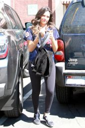 Bethany Mota at Dancing With The Stars Rehearsal in Los Angeles - September 2014