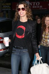 Bridget Moynahan - at NBC Studios in New York City - September 2014