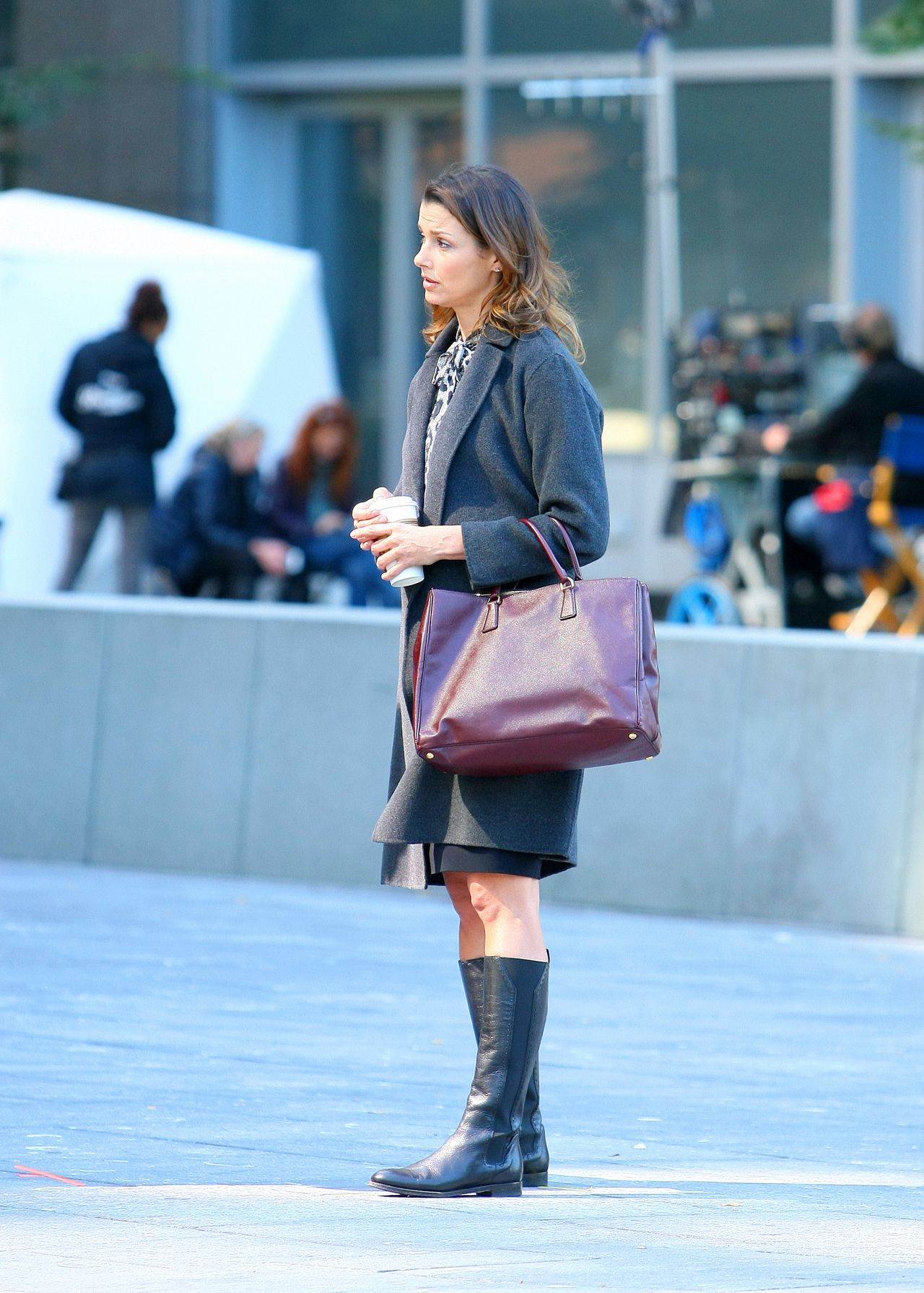 Bridget Moynahan - Filming