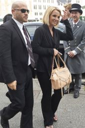 Britney Spears Style - Arriving in Denmark - September 2014