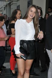 Brooke Vincent - Lord Of The Dance Dangerous Games in London - September 2014