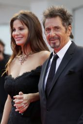Camila Morrone and Lucila Sola with Al Pacino at
