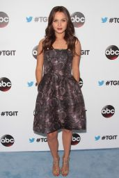 Camilla Luddington - #TGIT Premiere Event hosted by Twitter in West Hollywood