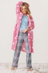 Camille Rowe - Next Sleepwear - Winter 2014