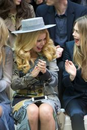 Cara Delevingne & Kate Moss - London Fashion Week, September 2014