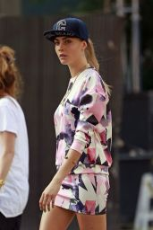 Cara Delevingne - Photoshoot in NoHo New York City - September 2014