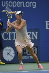Carolina Wozniacki – 2014 U.S. Open Tennis Tournament in New York City – 4th Round