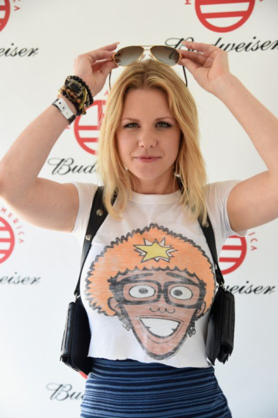 Carrie Keagan - 2014 Budweiser Made In America Festival in Los Angeles