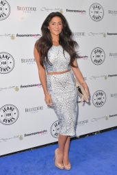 Casey Batchelor at Jeans for Genes Day 2014 Launch Party in London