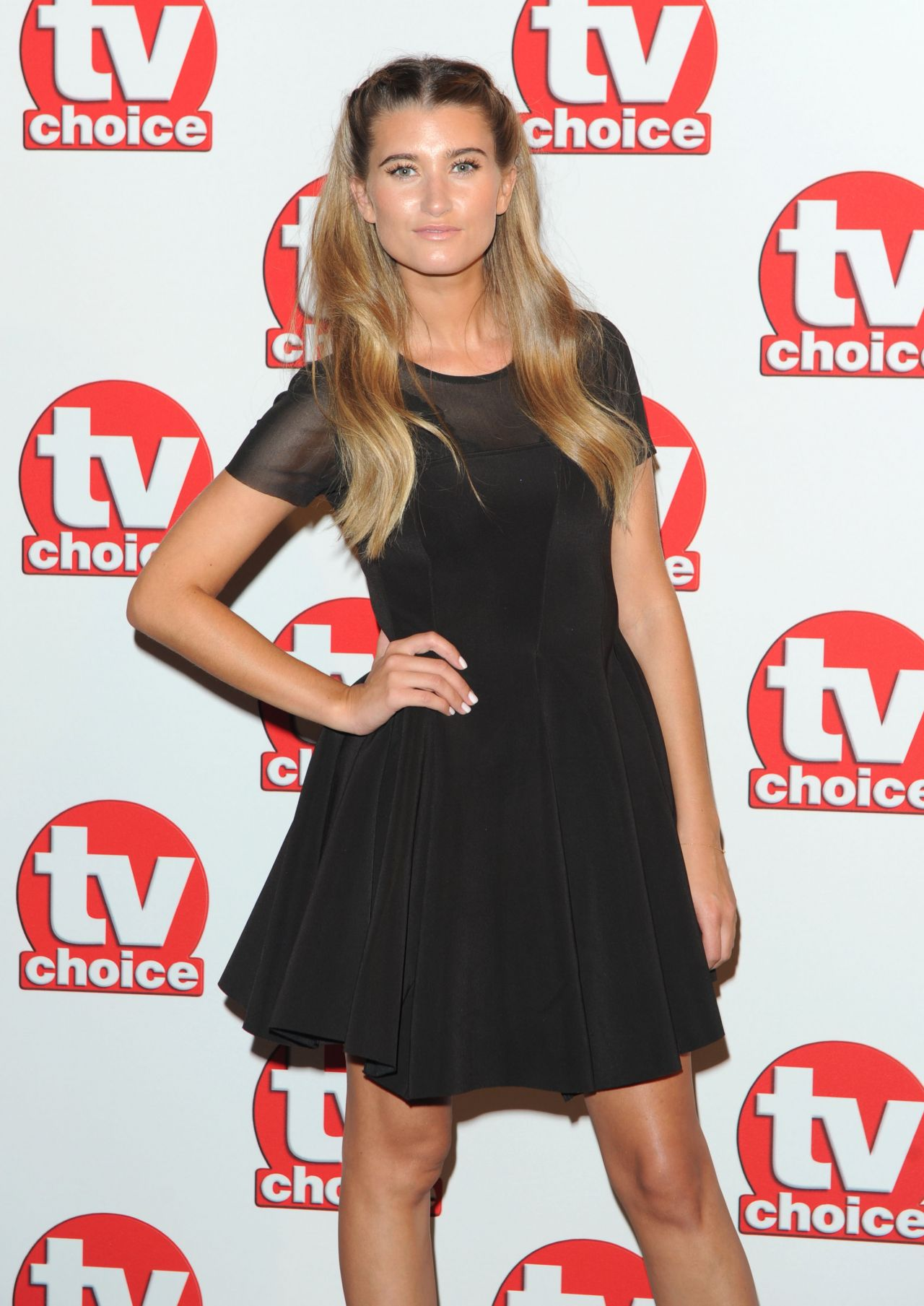 Charley Webb - TV Choice Awards 2014 in London