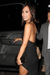Cheryl Burke Leggy at Aventine Hollywood Restaurant in Los Angeles - Sept. 2014