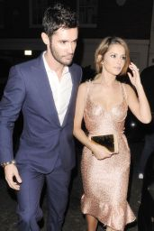 Cheryl Fernandez-Versini - Arriving at Simon Cowells Birthday Party - September 2014