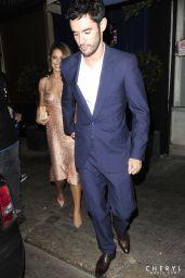 Cheryl Fernandez-Versini - Arriving at Simon Cowells Birthday Party - September 2014