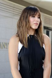 Chloe Bennet on the Set of